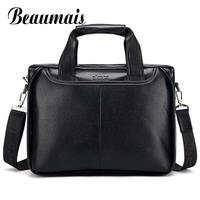 Beaumais 2017 Men Casual Briefcase Business Shoulder Bag Messenger Bag Men S Briefcase Leather Handbag Bag