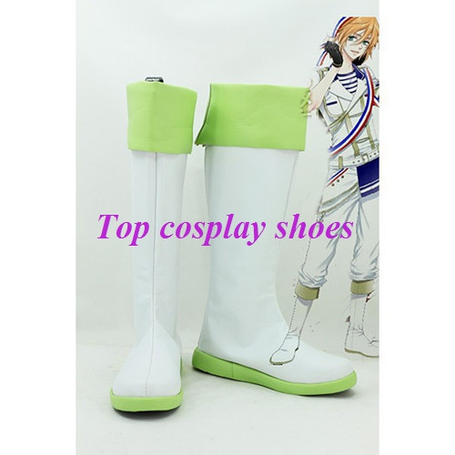 Freeshipping anime MARGINAL#4 LOVE SAVIOR Nomura Aaru Cosplay Boots Shoes  #GAI032