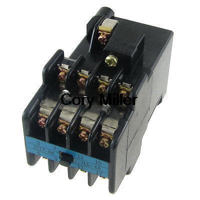 цена на AC 220V Coil JZ17-44 4NO 4NC 4 Poles AC Contact Type Auxiliary Relay