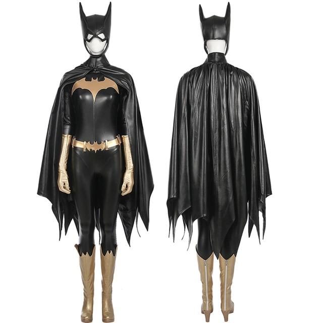 Batgirl Cosplay Costume Adult Women Halloween costume DC Batman Batgirl Costumes cosplay fancy suit custom made  sc 1 st  AliExpress.com & Batgirl Cosplay Costume Adult Women Halloween costume DC Batman ...