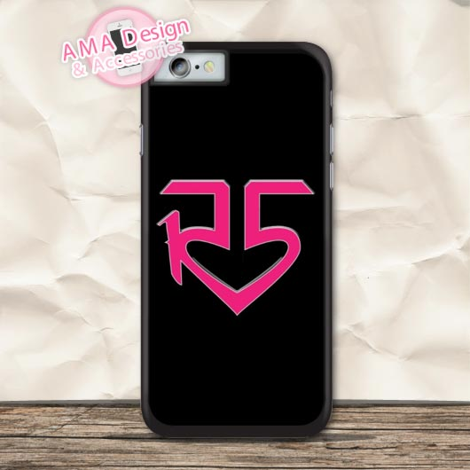 R5 Band Ross Lynch On Black Protective Case For iPhone X 8 7 6 6s Plus 5 5s SE 5c 4 4s For iPod Touch