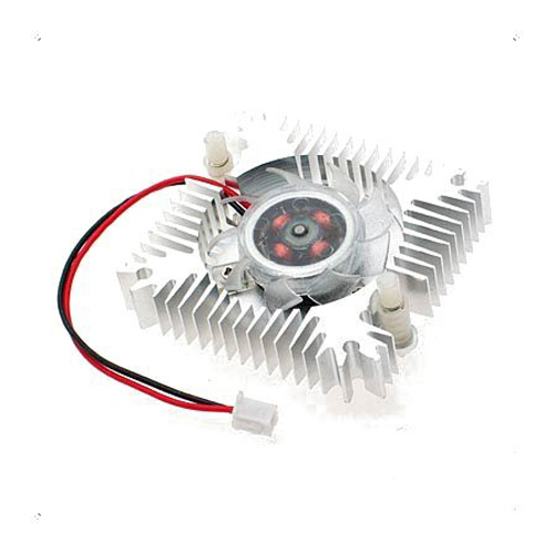 GTFS-PC VGA Video Card 2 Pin 55mm Cooler Cooling Fan Heatsink 4800 RPM computer radiator cooler of vga graphics card with cooling fan heatsink for evga gt440 430 gt620 gt630 video card cooling