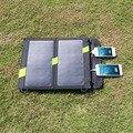 Портативное противоударное и водоустойчивое зарядное устройство ALLPOWERS 14W для мобильных устройств на солнечной батарее с двойным USB выходом