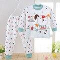 Roupa do bebê pijama para meninos pijamas set Pijamas para meninas crianças de algodão Puro roupas íntimas das crianças 20 #