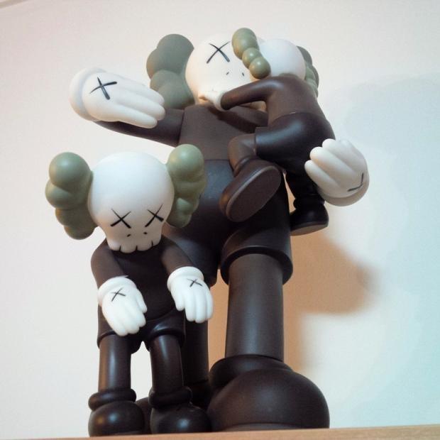 16 inches OriginalFake KAWS CLEAN SLATE With Baby Brown Color In Original Box 40cm H16 inches OriginalFake KAWS CLEAN SLATE With Baby Brown Color In Original Box 40cm H
