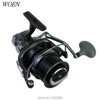 WOEN THS10000 Shallow cup metal Fishing reel Main body PA66 plastic Spinning wheel reel All metal CNC rocker