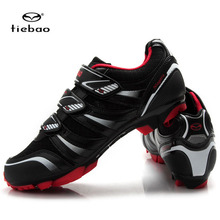 Tiebao Brand Cycling Shoes MTB Calzado Ciclista Ultralight Mens Breathable Shoes For Racing Zapatos De Ciclismo De Carretera