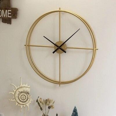 Us 96 88 Modern Minimalis Nordic Jam Besi Tempa Ruang Tamu Rumah Jam Dinding Kreatif Minimalis Suasana Seni Jam In Wall Clocks From Rumah Taman On