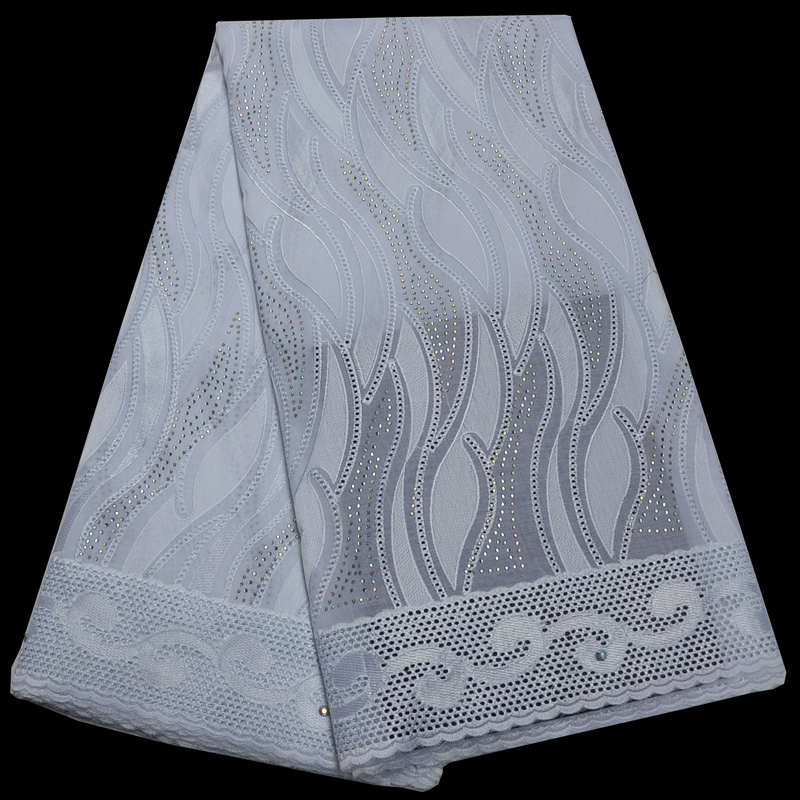 Free shipping (5yards/pc) high quality pure white African Swiss voile lace fabric with rhinestones for making party dress CLP337Free shipping (5yards/pc) high quality pure white African Swiss voile lace fabric with rhinestones for making party dress CLP337
