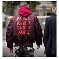 Winter Yeezy Jacket Kanye West coats couple i feel like pablo kanye MA1 bomber yeezus jacket thick cotton M-2XL brand clothing
