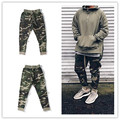 urban clothingfashion singer mens jumpsuit harem camo fog side zipper pants joggers military army sweatpants camouflage