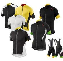 Mavic 2017 Cycling Jersey pro mtb team Summer Team Short Sleeves Cycling Set Bike Clothing Ropa Ciclismo Cycling Clothing Sports