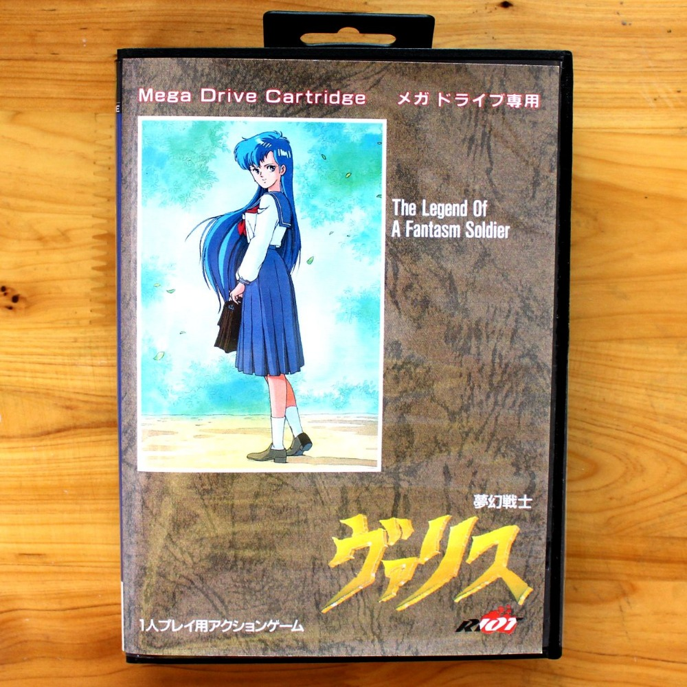 The Legend Of A Fantasm Soldier 16 Bit SEGA MD Game Card With Retail Box For Sega Mega Drive For Genesis