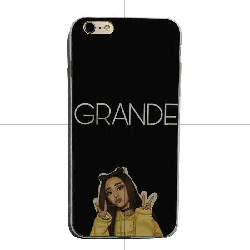 Yinuoda Ariana Grande Diy Luxury High - end Protector โทรศัพท์กรณีสำหรับ iPhone X XS XR XsMax 8 plus 6 6 วินาที 7 7 plus Mobilecover