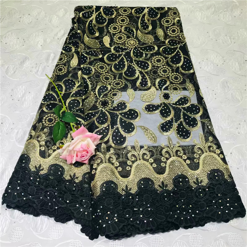 French Lace Fabric With Beads Green African cotton Lace Fabric High Quality 2018 Net Lace Nigerian Material Dress  WD030610French Lace Fabric With Beads Green African cotton Lace Fabric High Quality 2018 Net Lace Nigerian Material Dress  WD030610
