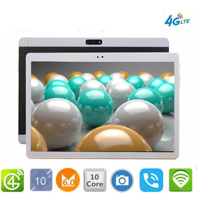 все цены на CARBAYTA Super Tablets K99 10.1' WIFI 10 Core 128GB ROM Dual Camera 8MP Android 6.0 Tablet PC 4G LTE GPS bluetooth phone MT6797 онлайн