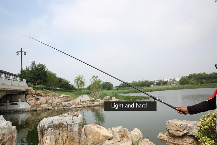 6.3 7.2m carpa vara telescópica de pesca