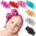 Buen Negocio Nueva Moda Niños Baby Girl Metallic Chicas Grandes Arco de La Venda Del Bebé Hairband Regalo 1 UNID