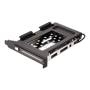 Uneatop ST8212PCI 2.5 inch hard Drive case Hot Swap SATA Mobile Rack hdd Enclosure PCI Mounting