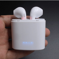 Original OVLENG True Mini Wireless Sport Bluetooth Earbuds Earphone With Charging Box For IPhone 7 8