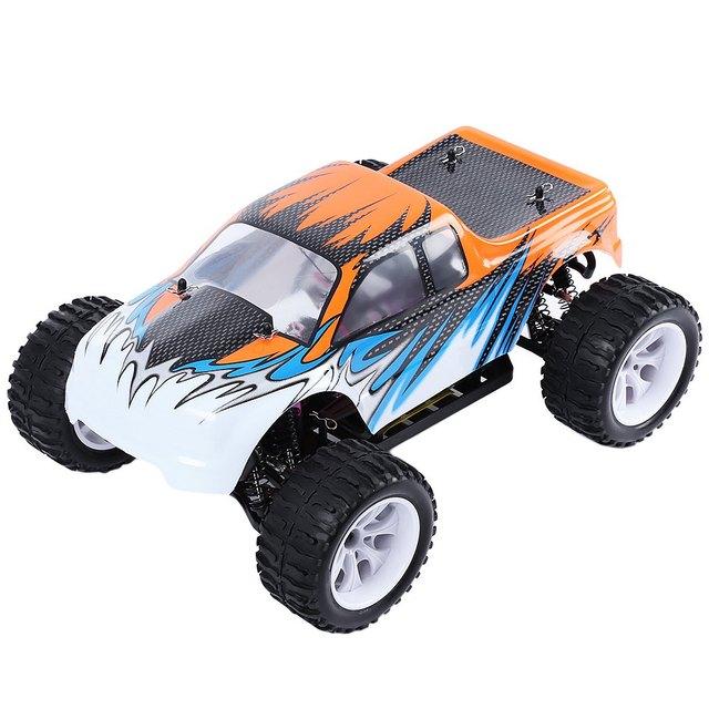 Новое Поступление HSP 94111 1/10 Шкала 4WD 2.4 ГГц 70KMH RC Грузовик Bigfoot Внедорожник с 3300KV Щетки для Детей