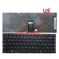 Neue Englisch tastatur für Lenovo 100S 14IBR 300S 14ISK 500S 14ISK Tastatur US schwarz-in Ersatz-Tastaturen aus Computer und Büro bei