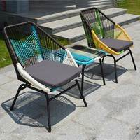 New Good quality outdoor Rattan sofa garden sofa leisure chair beach chair outdoor furniture products set Rattan Furniture set