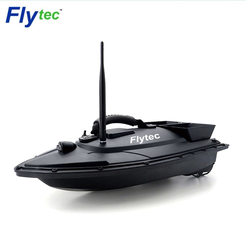 Flytec 2011-5 2011-15A Fishing Tool RC Bait Boat Toys Dual Motor Fish Finder Fishing Boat Ship Speedboat Toy Xmas Kids Gifts