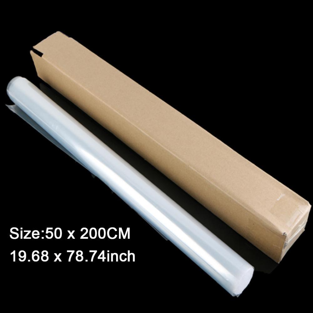 Taille 50X200CM rouleau 3 couches PPF rhinocéros peau voitures peinture Protection Film pour voiture emballage Transparent Auto véhicule revêtement autocollant