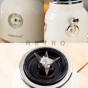 Image 3 - ANIMORE Juice Blender Retro Fruit Juicer Baby Food Milkshake Mixer Multifunction Juice Maker Machine Portable Fruit Blender
