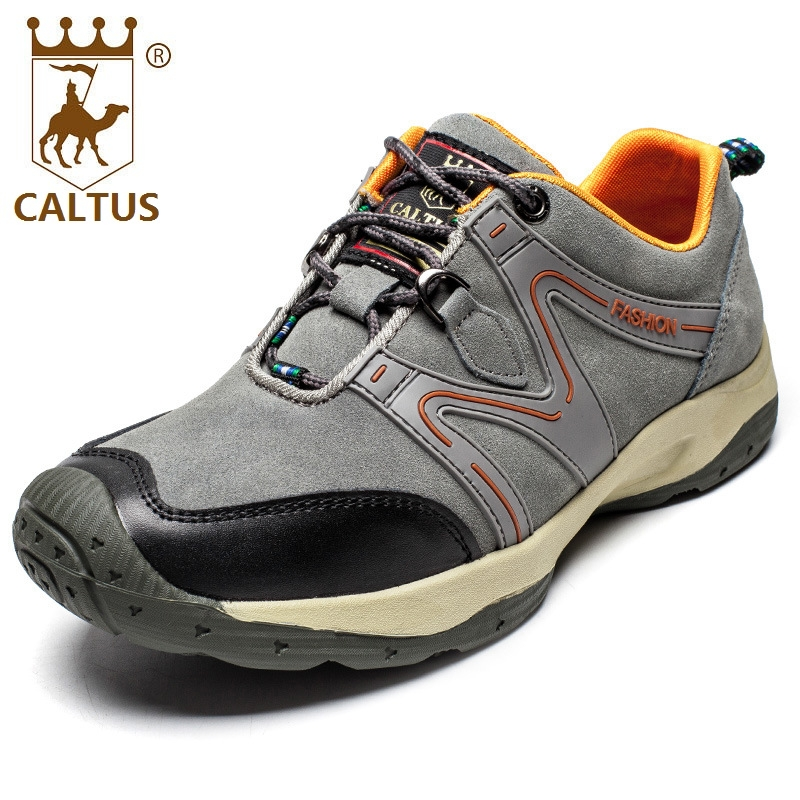 CALTUS Casual Shoes Men Light Weight New Design Flats Genuine Leather Men Spring Autumn Breathable Driving Shoes AA20548