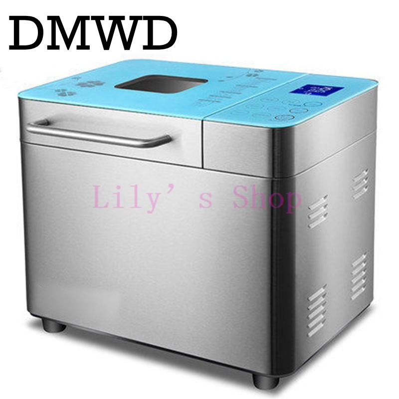 Automatic Multi-Functional Mini Bread Maker Intelligent easy Bread Machine Breadmaker Cooking Tool 500w EU US plug ice cream edtid 12kgs 24h portable automatic ice maker household bullet round ice make machine for family bar coffee shop eu us uk plug