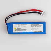 6000mah GSP1029102R battery for JBL Charge 2 Plus,Charge 2+,charge 3 2015 2016 Version GSP1029102R P763098 batteries
