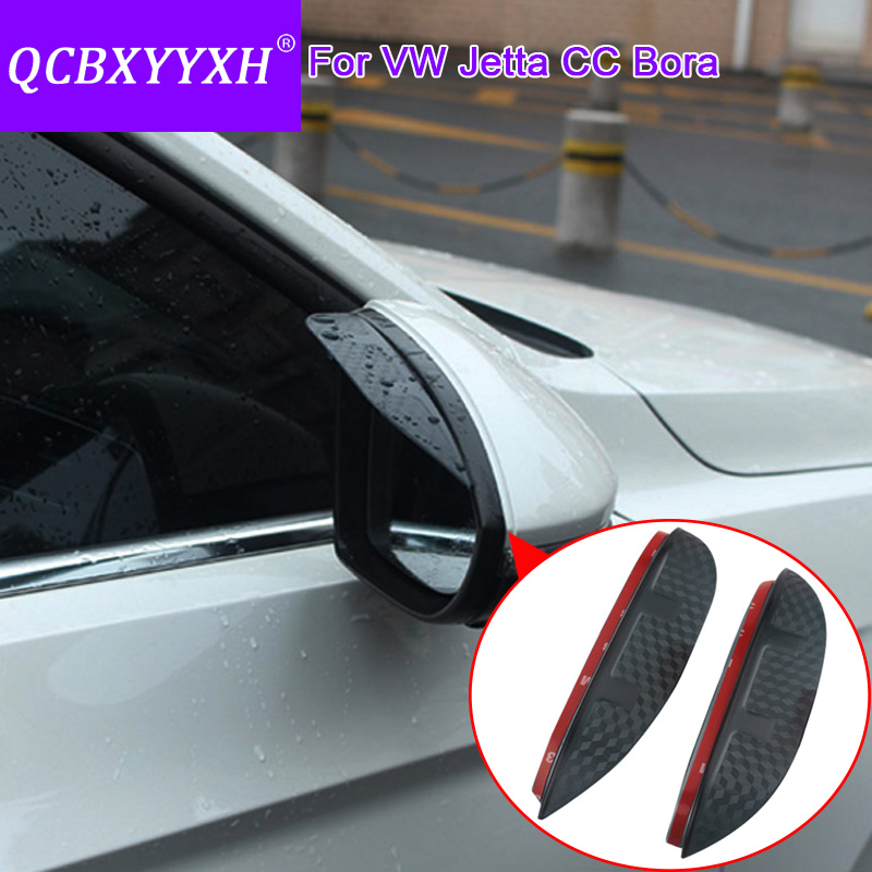 Volkswagen Cabrio Rearview Mirror Rearview Mirror For: QCBXYYXH For Volkswagen CC Bora Jetta Car Styling Carbon