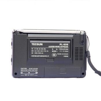 Радиоприемник TECSUN PL-606, PLL, FM/LW/SW/MW, DSP, Интернет-радио 2