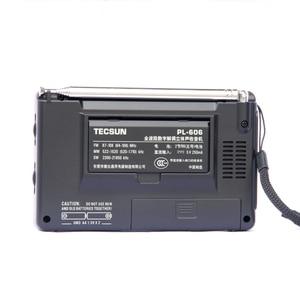 Image 5 - Портативный радиоприемник Tecsun PL 606 Digital PLL, стерео/LW/SW/MW приемник DSP, Интернет радио FM:64 108 МГц/LW: 153 513 кГц
