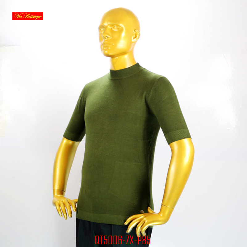 VA 2017 fall winter fashion knitted turtleneck casual pullovers font b men s b font cashmere