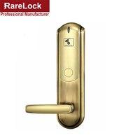 LHX Цифровой Электрический Гостиничный замок лучший RFID отель электронный дверной замок для квартиры