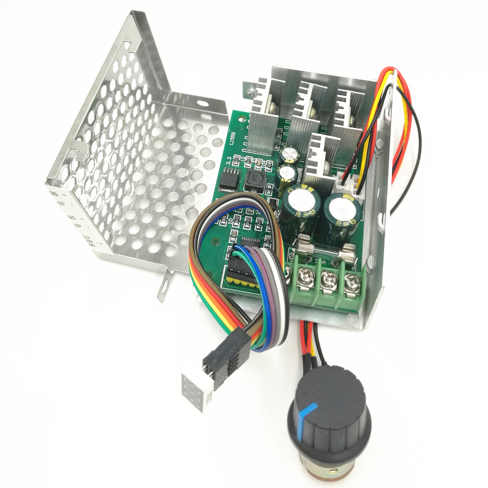 Home Improvement Motors & Parts Pwm Speed Controller Dc Motor Digital Display 0~100% Adjustable Drive Module Input 6v-60v 30a