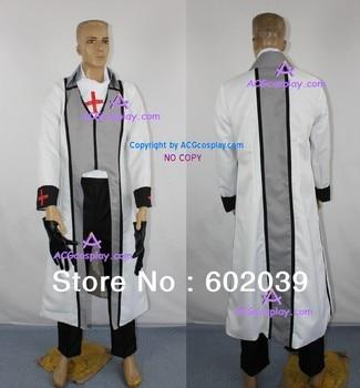 Weiss Kreuz Gluhen Aya's uniform cosplay costume include gloves GOOD quality