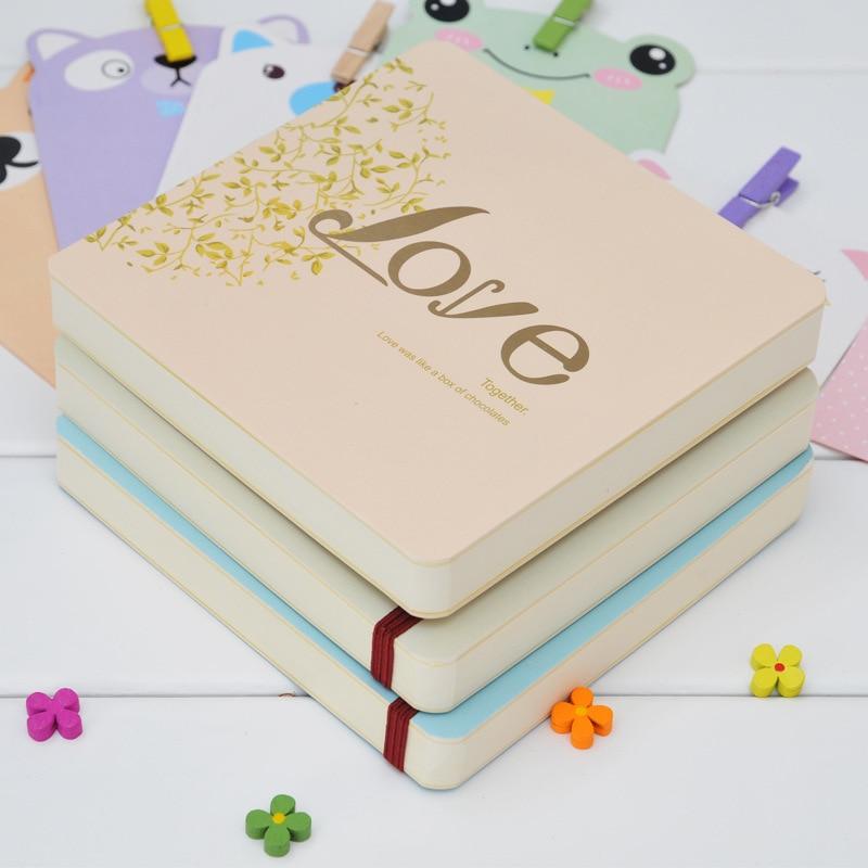 6d695c81f0e32 جديد مربع كتاب مع الحب نمط لطيف و خمر دفتر الأزواج الطلاب يوميات كتاب هدايا  المستلزمات المدرسية