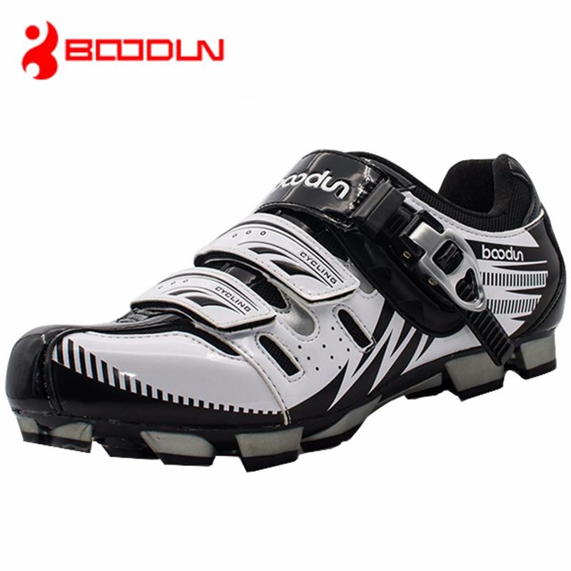 Boodun Breathable Men's Cycling Shoes Road Mountain Bike Shoes Racing Self-Locking Cycling Sneakers Sapatilha Ciclismo Mtb Shoes boodun breathable
