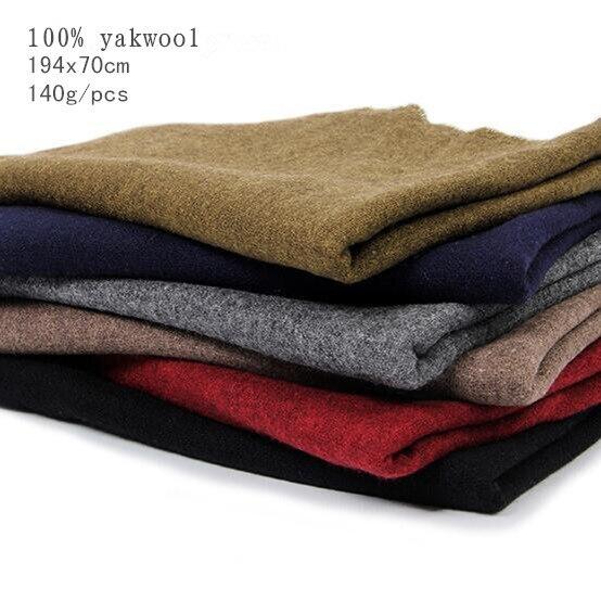 Naizaiga 100% Yakwool Factory Outlet Fall Winter Women Plaid Shawl Wen Warm Scarf , SN2
