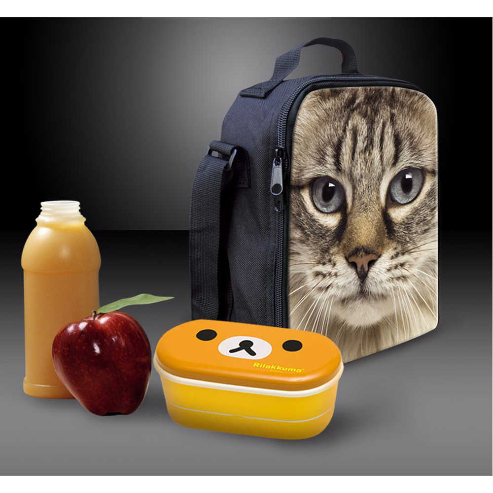 Cooler Lunch Bag for Women Kids Cute Anime Unicorn Printed Horse Children Picnic Bags Insulation Fashion Causal Bag Lunch boxes