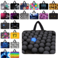 Colorful 7 10 12 13 14 15 17 17.3 inch Laptop Sleeve Bag Notebook Portable Cover Handle Neoprene Bags Cases Soft Bolsas Pouch