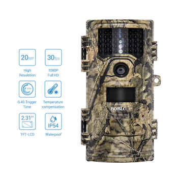 CT006 Hunting Video Camera 20MP 1080p 30fps Trail Cameras Farm Security 0.4s Trigger Time Night Vision Wildlife Photo Trap - DISCOUNT ITEM  24% OFF All Category