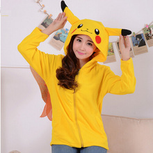 Unicorn Pokemon Umbreon fleece hood hoodie Costume Pikachu stitch firedragon Animals panda Sweatshirts Hooded Hoodies