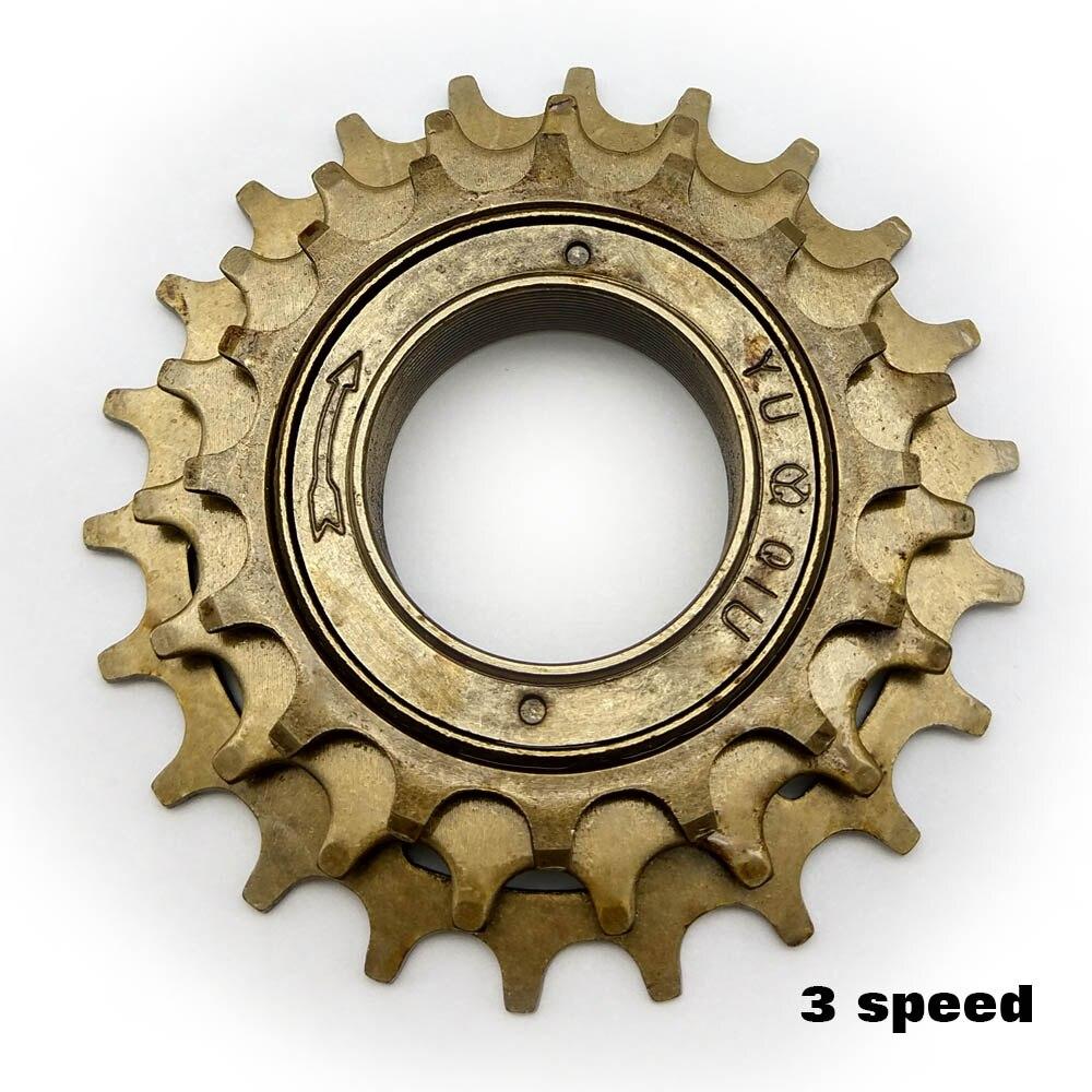 Mountainbike flywheel teeth 12 T 14T 16T 3 speed  steel Freewheel Gear Denticulate spare parts tesoura de tosa fenice