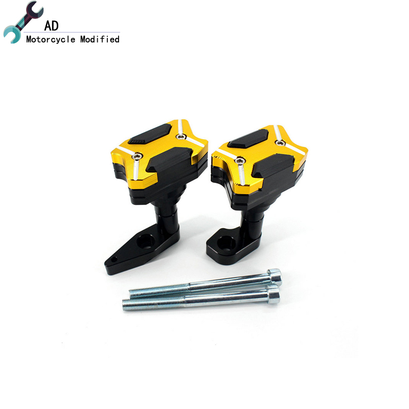 AD For Kawasaki Racing Bike Protection CNC Engine Body Frame Sliders Crash Protector ER-6N ER6N ER-6F ER6F Motorcycle !