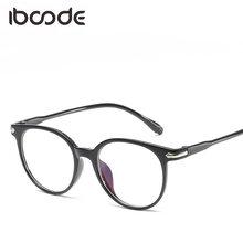 ead6503ee9 iboode Blu-ray Protective Eyeglasses Glasses Frame Men Women Clear Lens  Plain Glass Spectacles Black Frame Comfortable Eyewear